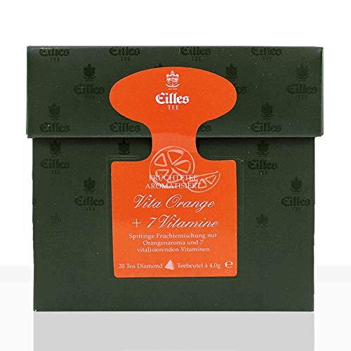 EILLES Tea Diamonds Tee Vita Orange 200Stk