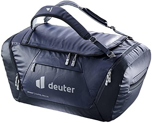 Deuter AViANT Duffel PRO 90, Borsa Sportiva Unisex-Adult, Marine-Ink, 90 L