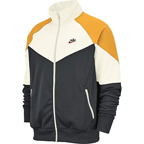 Nike Sportswear Windrunner Giacca, Seaweed/Vela/Oro Universitario, XL Uomo