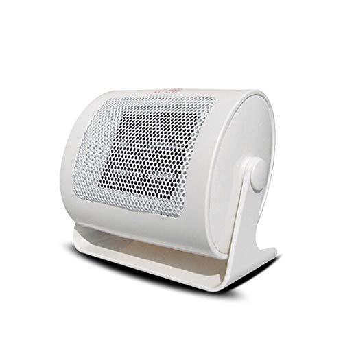 NBLYW mini-verwarming, 500 W, meervoudig veiligheidsdesign, bescherming tegen oververhitting, laag geluidsniveau en lange levensduur voor woonkamer en kantoor in de slaapkamer