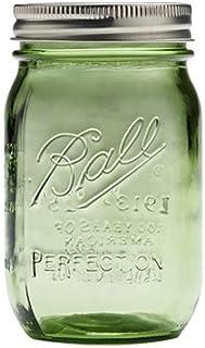 Ball 瓶(メイソンジャー)16oz/グリーン(レギュラー蓋)