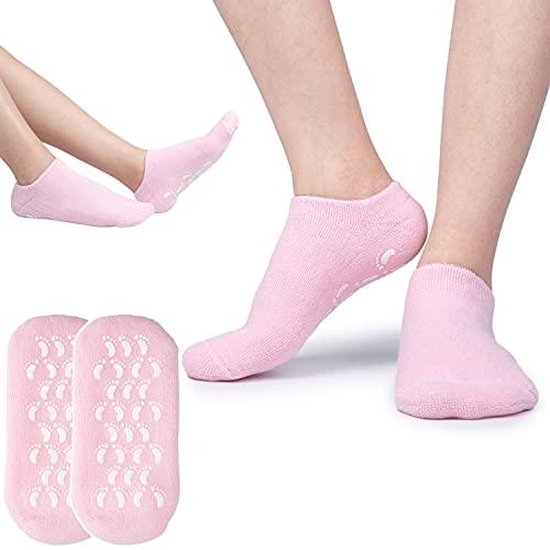 Ziz Care Gel Spa Sock Moisturizing Cotton Silicon Moisturize Soften Repair Cracked Skin Beauty Foot...