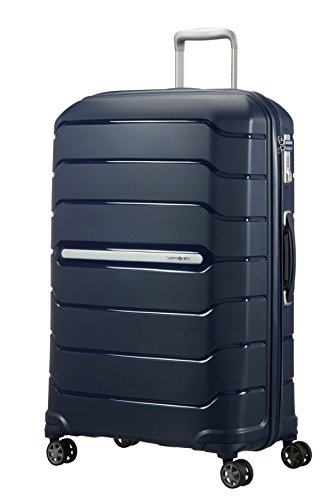 Samsonite Flux Spinner L Valigia Espandibile.75 cm, 111 Litri, Blu (Navy Blue)
