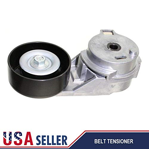 Ai CAR FUN Serpentine Belt Tensioner Pulley for Buick Chevy GMC Hummer Isuzu Saab,Idler Pulley Auto Parts & Accessories OEM 12573024