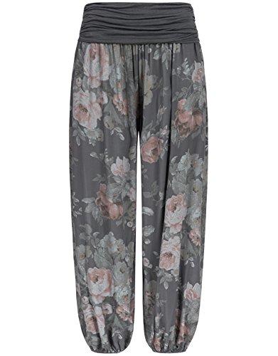 Zarlena damskie spodnie haremki, alladynki, rozmiar uniwersalny
