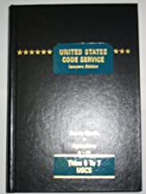 United States Code Service (Lawyers' Edition, Titles 6 to 7)