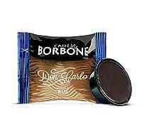 caffè borbone don carlo miscela blu - confezione da 100 capsule - compatibili con macchine a marchio lavazza®*a modo mio®*