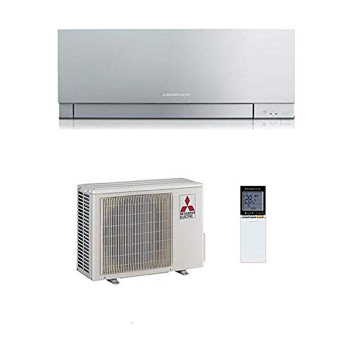 CLIMATIZZATORE MITSUBISHI ELECTRIC KIRIGAMINE ZEN 9000 ARGENTO - MSZ-EF25BVES