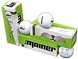 Emainer Golfball, 3 softe Golfbälle mit maximaler Reichweite, Dieser Ball kennt Dein Handicap, 1x 3er-Pack, weiß