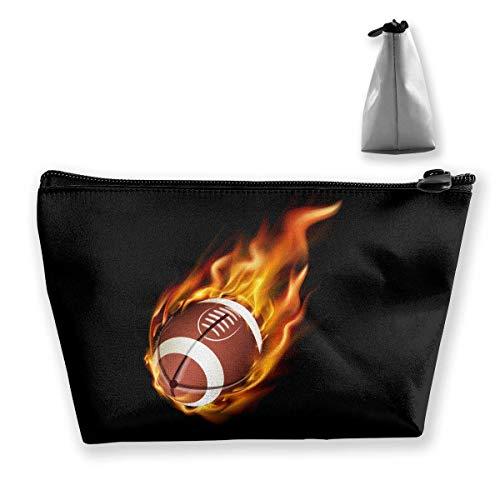 Trapez-Kulturbeutel Tragbare Reisetasche Rugby-Reißverschluss-Geldbörse