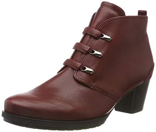 Gabor Shoes Damen Comfort Basic Stiefeletten, Rot (Dark-Red (Micro) 68), 40.5 EU