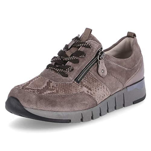 Waldläufer Damen Sneaker Weite H Grau, Schuhgröße:EUR 37.5