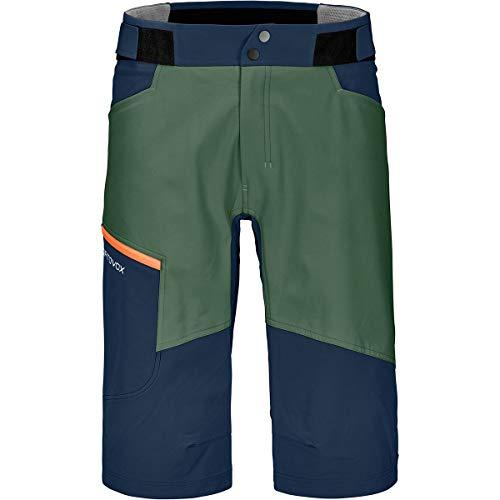 ORTOVOX Herren Pala Shorts M Kurze Hose, Grüner Wald, XL