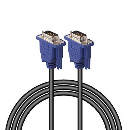 VONKY HD 15 Cuerda del Cable de extensión VGA Clavija Line para...