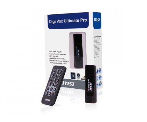 MSI Digi Vox Ultimate HD Pro DVB-T USB-Stick