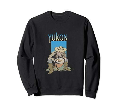 Klondike-Goldrausch-Yukon-Bergmann-Alaska-Hemd Sweatshirt