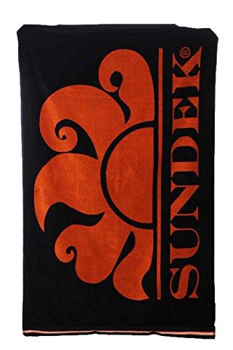 New Classic Logo - Towel - Sundek - (004 black)
