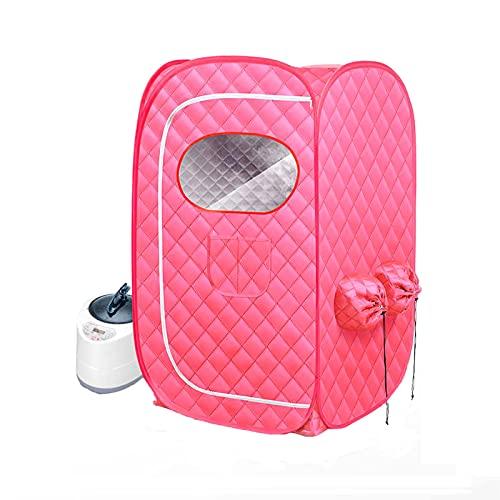 NACHEN Sauna de Vapor Personal portátil para el hogar, una Tienda de SPA Plegable Interior para relajación de piernas de Cuerpo Completo de 2 Personas
