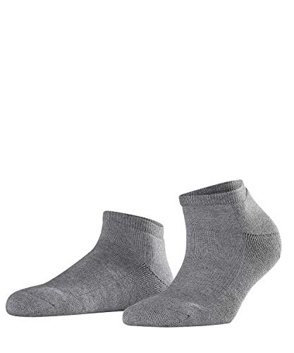FALKE Damen Sneakersocken Cosy - Baumwollmischung, 1 Paar, Grau (Grey Mix 3399), Größe: 35-38