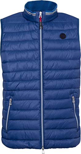BRAX Herren Outdoor Weste Will ULTRALIGHT superleichte Steppweste Blau (ocean 25) Large (Herstellergröße:L)