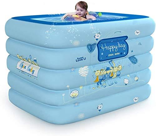 ZHLFC Folding idromassaggio Gonfiabile del Bambino Piscina Newborn casa di Isolamento Coperta Oversize Piscina for Bambini, StandardPackage