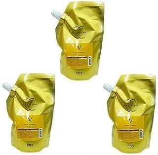 【X3個セット】 ナンバースリー ミュリアム ゴールド シャンプー V 500ml 詰替え用