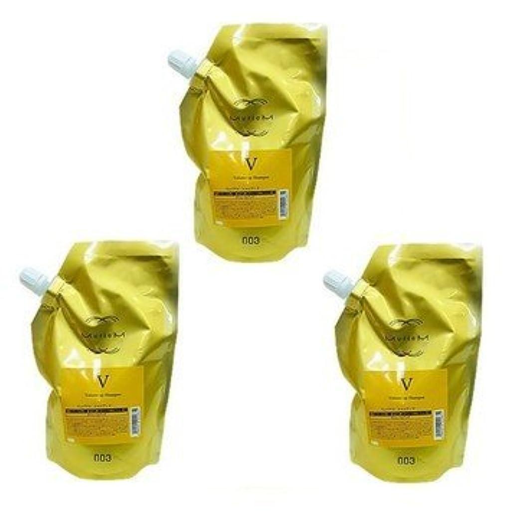 してはいけません血まみれ成果【X3個セット】 ナンバースリー ミュリアム ゴールド シャンプー V 500ml 詰替え用