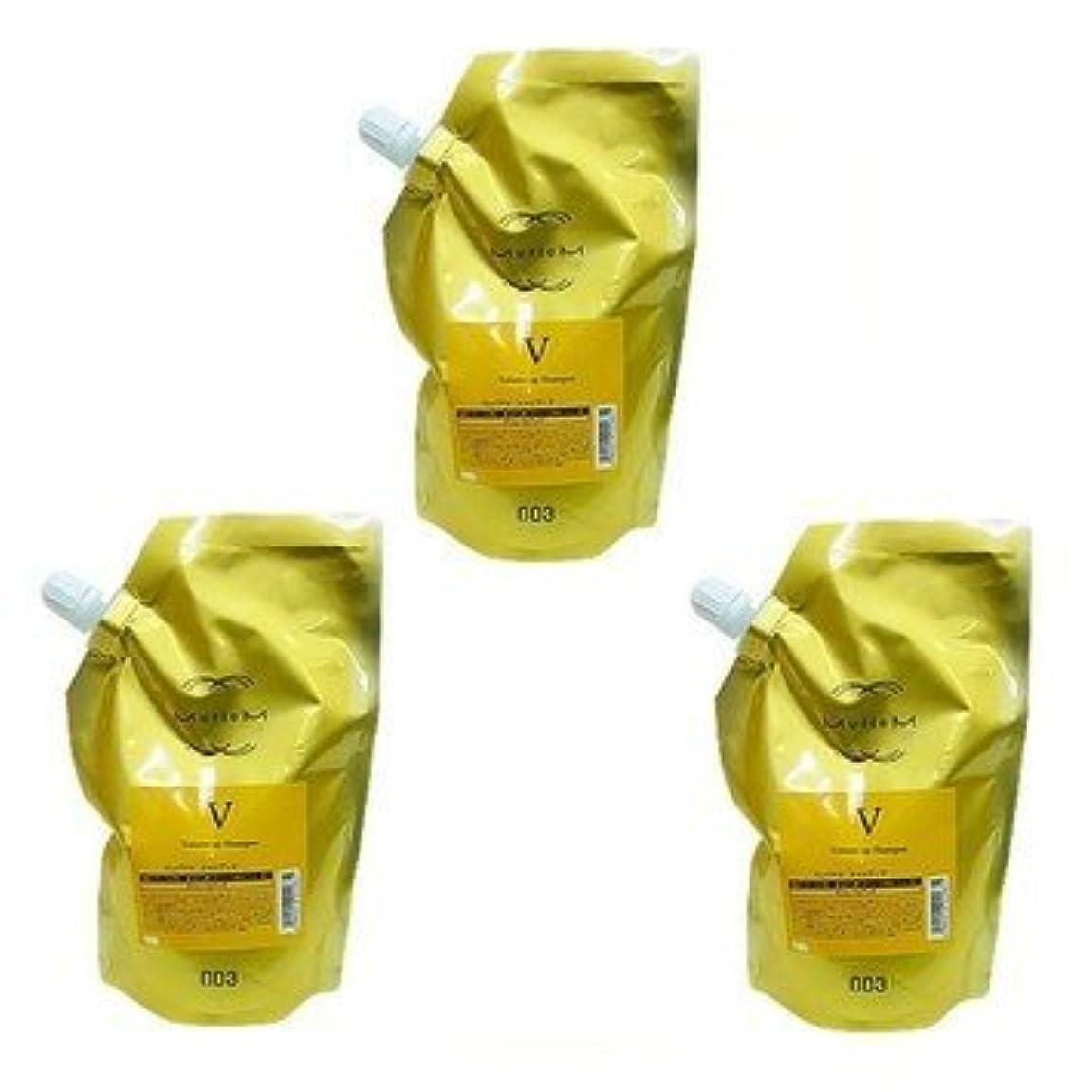 ドラッグ引っ張るシンカン【X3個セット】 ナンバースリー ミュリアム ゴールド シャンプー V 500ml 詰替え用
