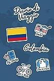 Diario di Viaggio Colombia: Diario di viaggio da compilare | 106 pagine, 15,24 cm x 22,86 cm | Per accompagnarvi durante il vostro soggiorno