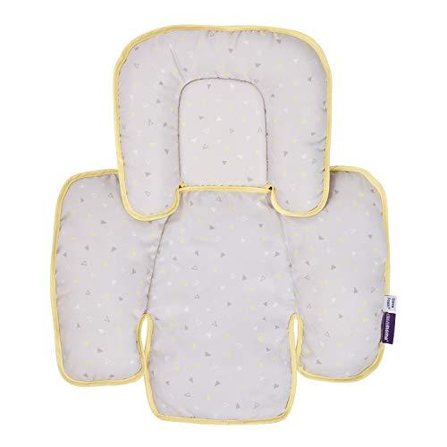 Clevamama ClevaFoam 3601 Riduttore Universale per Passeggino e Seggiolino per Neonato, 45 cm x 50 cm, Multicolore