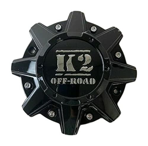 Wheel Center Caps K2 Off-Road Wheels CW0396 CW0396-K2 Gloss Black
