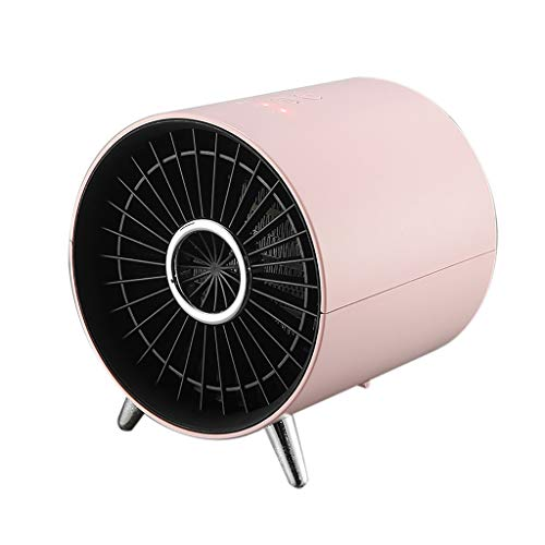 Mkcether 1000W-1360W Portable Ceramic Space Heater, Mini Electric Air Heater Fan Handy Air Warmer Energy Efficient Silent Small Heater for Desk, Home, Bedroom, Office,Best Gifts