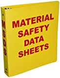 Brady BR823A Binder, Material Safety Data Sheets