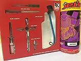 Radiokontrol Nitro Starter Kit RK + 1 Litro Miscela Jets Jet's 16% Accendi Candela Scaldacandela Himoto Hsp Seben Scoppio Miscela Buggy Monster 1/8 1/10 1/16
