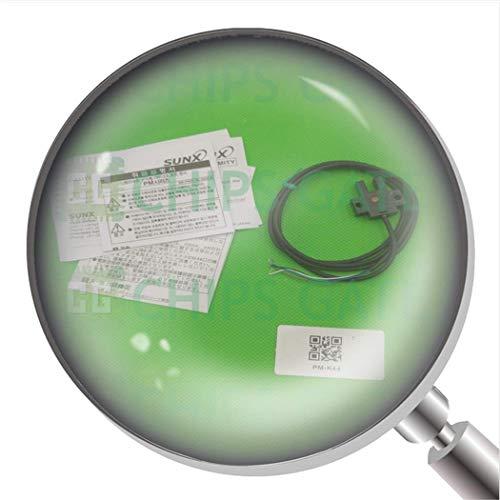1 x PM-K44 Foto-Mikro-Sensor, photoelektrischer Schalter mit Leitung.