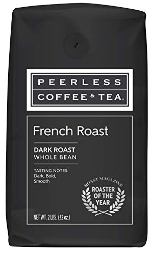 Peerless, French Roast, Dark Roast Whole Bean Coffee, 2 Pounds