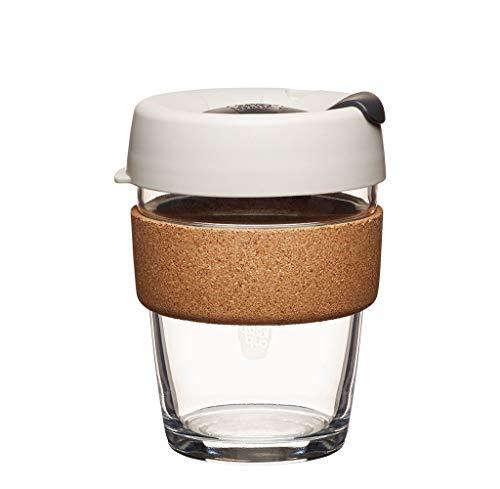 KeepCup 12oz Reusable Coffee Cup. Toughened Glass Cup & Natural Cork Band. 12-Ounce/Medium, Filter – BFIL12