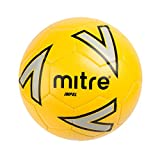 Mitre Impel Ballon de Football Mixte Adulte, Jaune/Argent/Noir, Taille...