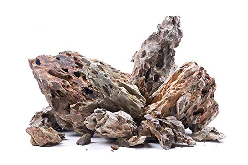 RETNE Dragon Rock Stone Dragon Rock Aquarium Terrarium Decoratieve stenen, 5Kg