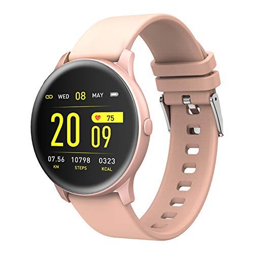SMARTWEAR Smart Watch Mit Herzfrequenzmesser,Frauen/Männer Fitness-Armband Sport Armband Uhr,Facebook/Twitter-Nachricht-Uhr Für Kinder-c