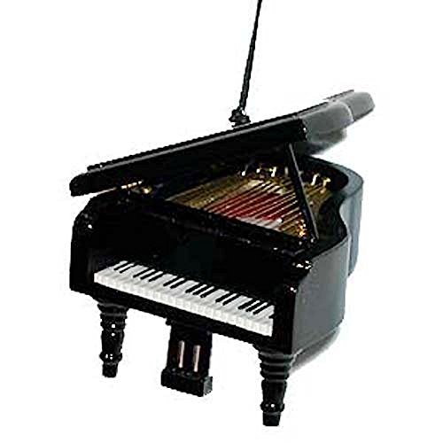 Musical Instrument Christmas Ornament (3.5' Black Grand Piano)