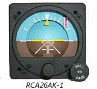 航空計器 RC ALLEN ATTITUDE GYRO (RCA26) 電動式 14VDC (12V可) ライト付き Fixed Pointer Movable Roll Dial