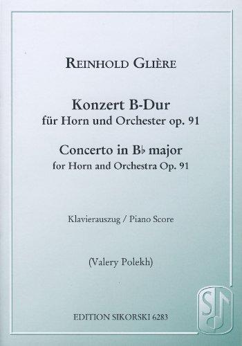 GLIERE - Concierto Op.91 en Sib Mayor para Trompa y Piano (