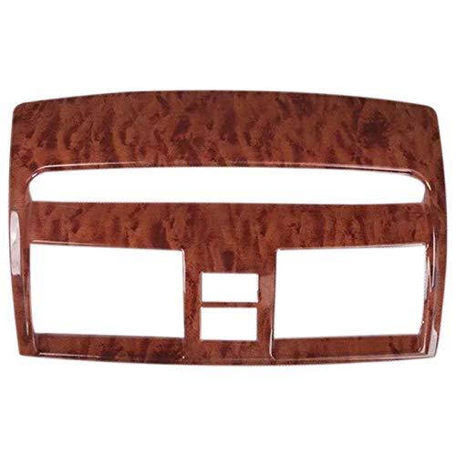 OVBBESS para Camry 2006-2011 1 Pieza ABS de Madera Adorno de la Cubierta de la Salida de VentilacióN del Aire Acondicionado Central Delantero del Coche Accesorios de Estilo de Coche