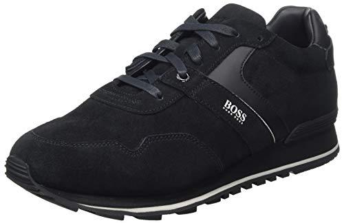 BOSS Parkour_Runn_sdwr 10223357 01, Zapatillas para Hombre, Negro (Black 001), 43 EU
