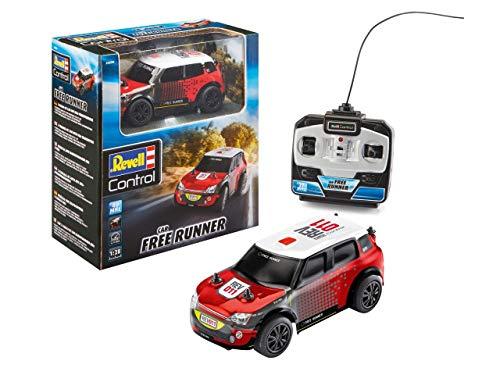 Revell Control- RC Rallye Car Free Runner Veicolo telecomandato, Colore Red, 24470