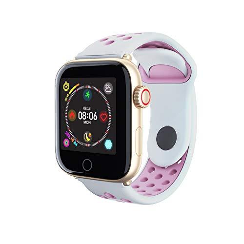 MeterMall Z7 sport Smart Watch Mannen Vrouwen Fitness Tracker band Hartslagmeter Smart Armband IP68 Waterdichte Bloeddruk smartwatch Gouden roze