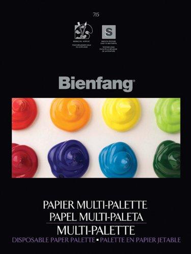 Bienfang Multi-Palette Paper Pad, 9-Inch by 12-Inch