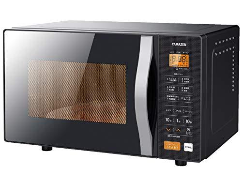 [山善] オーブンレンジ 16L ターンテーブル ヘルツフリー 自動メニュー グリル トースト 重量センサー搭載 ...