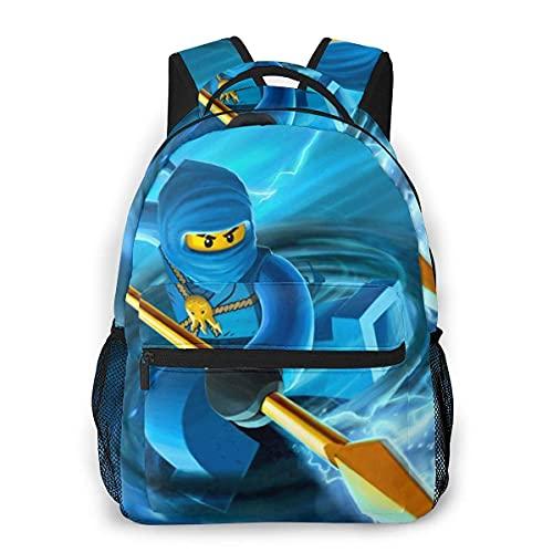 Jupsero Mochila para niños Flash Nin y mochila Mochilas escolares Mochila para estudiantes universitarios resistente al agua